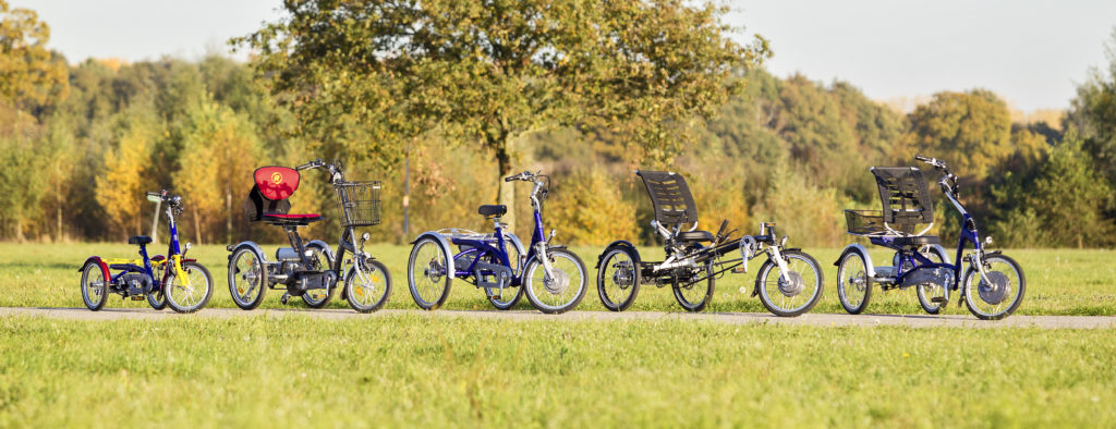 Van raam tricycle collection