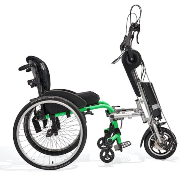 rio mobility edragonfly attachable handcycle