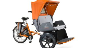 van raam chat rickshaw bike