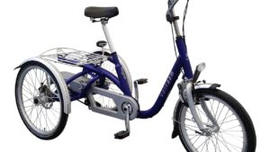 Van Raam midi trike in blue frame color
