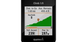 Garmin Edge 830 cycling unit