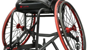 RGK Tennis Wheelchair with Black Frame color